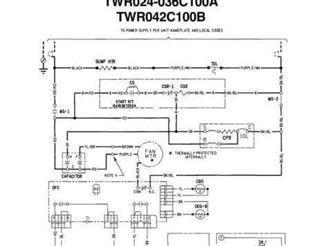 trane xe 1000 heat trane wiring diagram and circuit