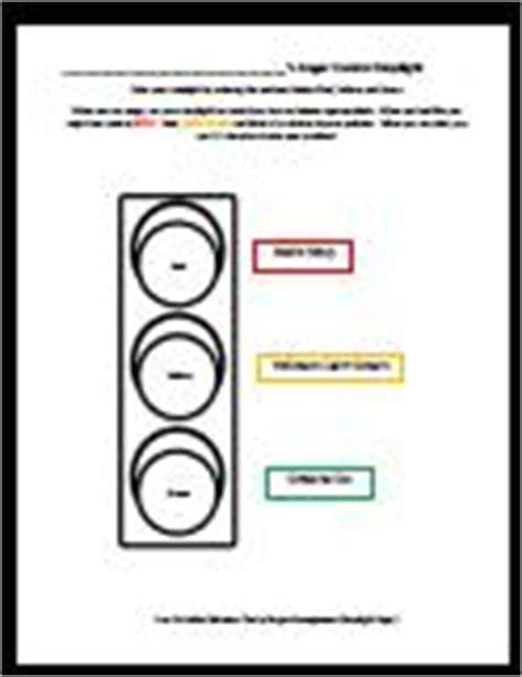 behavior stop light coloring page i created for my kiddos when you are angry use your stop anger management charts and printables