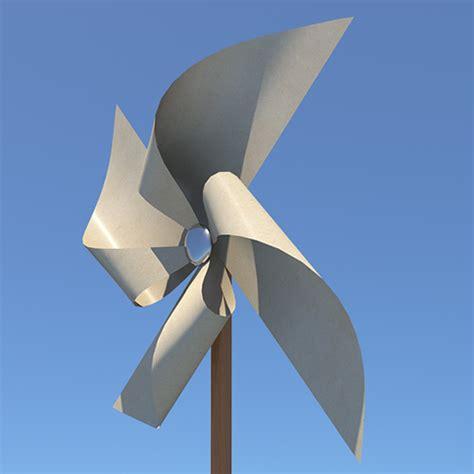 Paper Windmills - paper windmill pinwheel 3d model