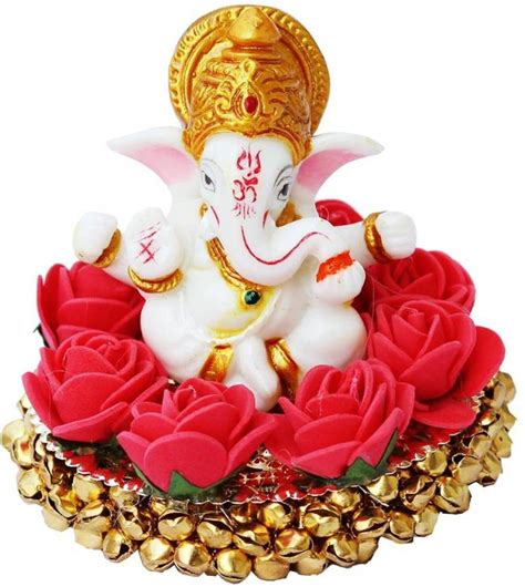 festive decoration services craft junction blessing lord ganesha on bangles showpiece