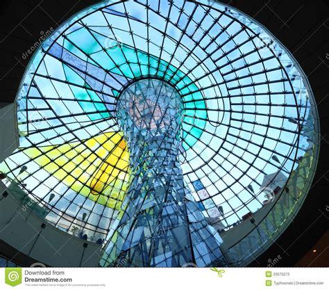 Cupola Dubai Cupola Of The Wafi Mall In Dubai Editorial Stock Photo