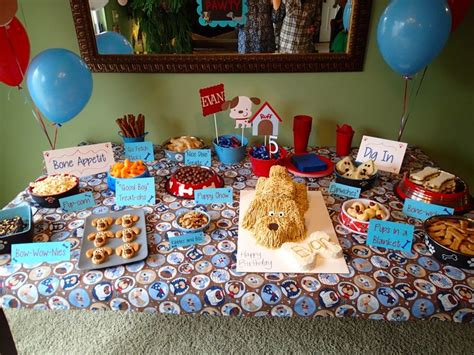 theme names for a birthday party 60 best images about puppy party on pinterest