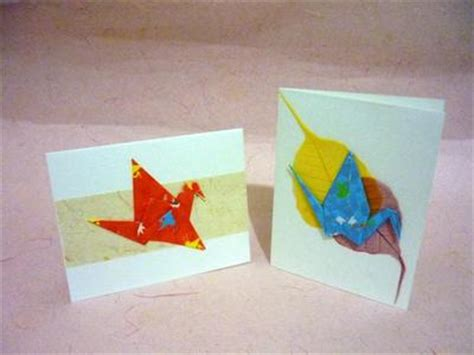 Origami Cards For Birthdays - origami greeting cards