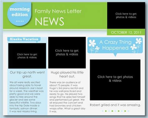 free newsletter templates publisher enom warb co