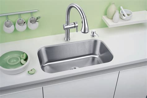 Single Sinks Kitchen 30x18 Quot Stainless Steel Single Bowl Kitchen Sink Usk 3018 Dkbc Kitchen Cabinets