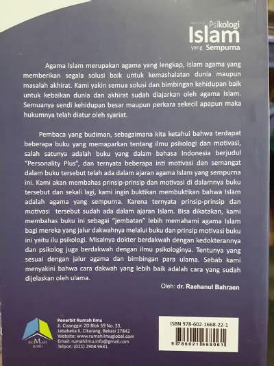 Psikologi Agama 2 buku psikologi islam yang sempurna toko muslim title