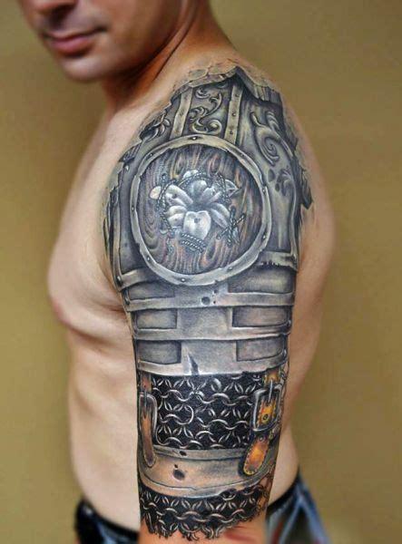 tattoo 3d cena tatuaże męskie zbroja 3d na tatuaże zszywka pl