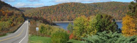 national scenic byway home allegheny national forest kinzua pennsylvania