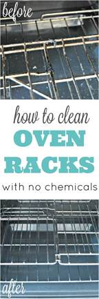 how to clean oven racks without harmful chemicals 4 real