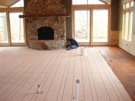 How To Make Concrete Floors Look Like Wood by Concrete Painted To Look Like Wood Floors Stuff