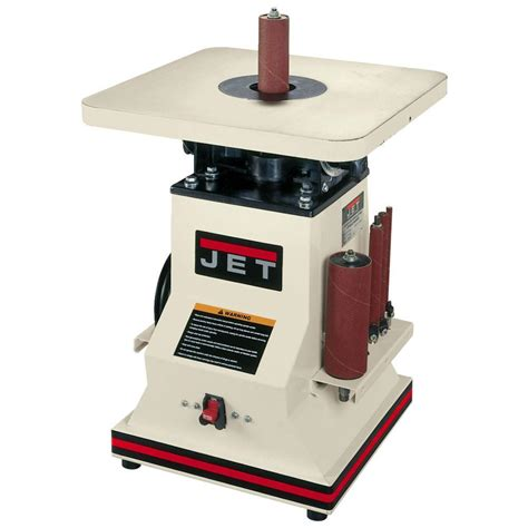 home depot bench sander jet 1 2 hp 5 5 in benchtop oscillating spindle sander