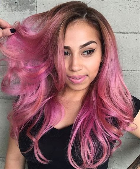 hair pink trendy hair color pretty pink hair to try styles