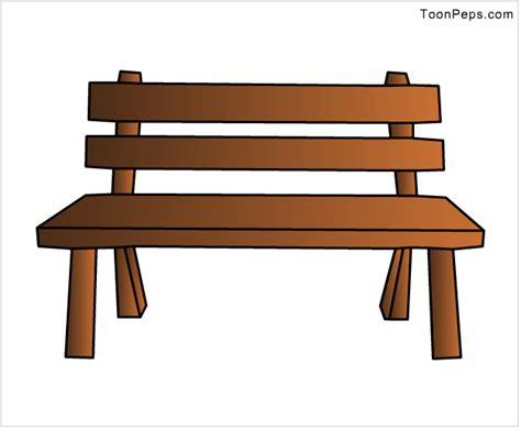 how to draw a bench cartoon bench images reverse search