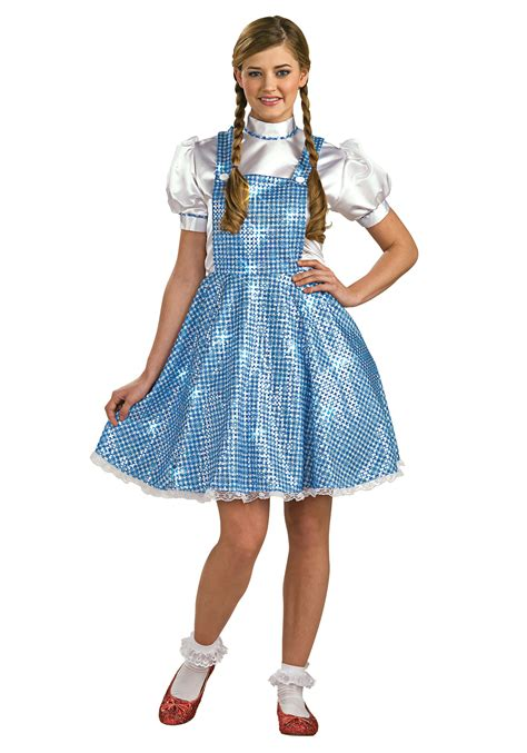 Dorothy Costume Womens Sequin Dorothy Costume
