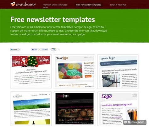 best 25 newsletter sle ideas that you will like on best 25 free html email templates ideas that you will