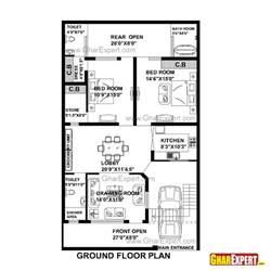 home design for plot house plan for 33 feet by 55 feet plot plot size 202