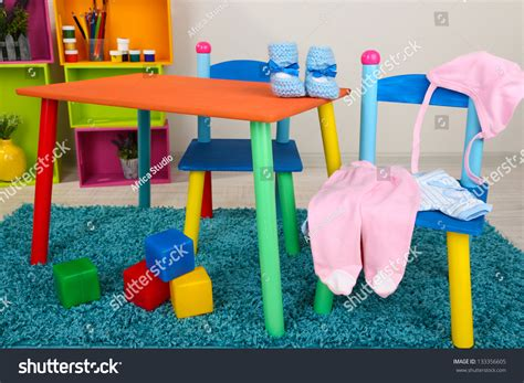 small table and chair for baby small and colorful table and chairs with baby clothes