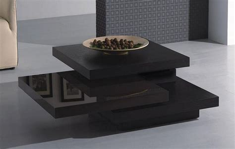 modern black wood coffee table contemporary coffee tables