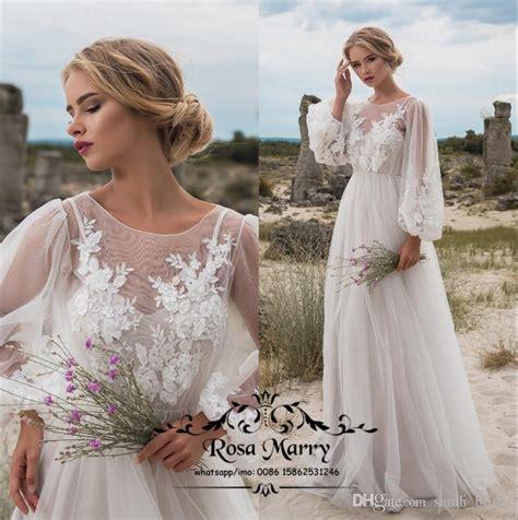 discount  size boho beach country wedding dresses