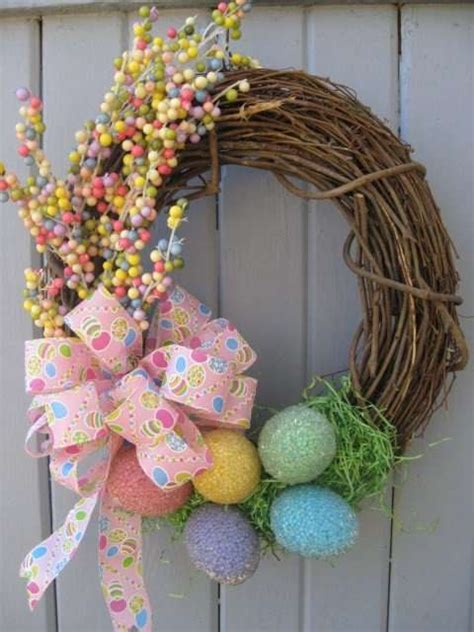 easter wreath ideas 15 diy festive easter wreaths ideas