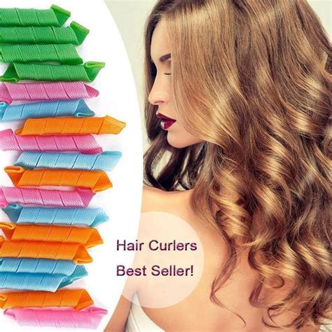 Hair Curlers Overnight by Best 25 No Heat Hair Curlers Ideas On Best