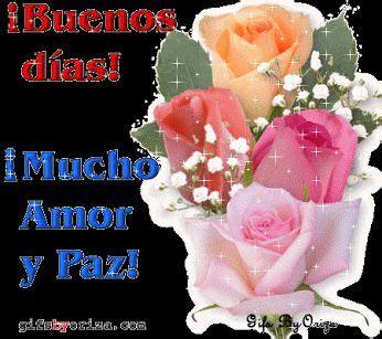 imagenes de rosas q digan buenos dias ver imagen de unas lindas rosas de hermosos colores con