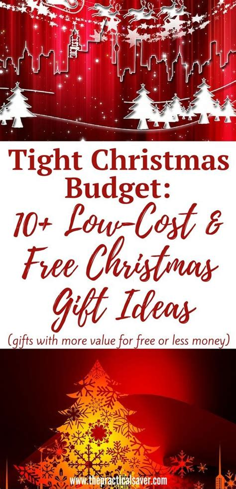 tight christmas budget 10 low cost and free christmas