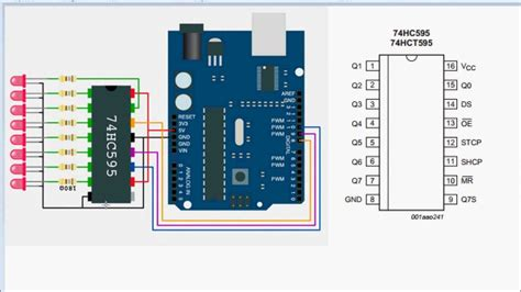 arduino tutorial on youtube arduino tutorial 3 shift registers 74hc595 funnydog tv