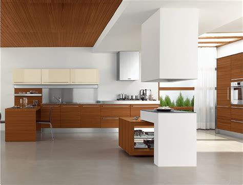 25 Modern Kitchens In Wooden Finish Digsdigs Modern Wood Kitchen Design