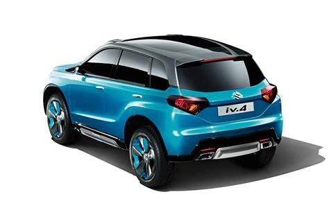 suzuki cars news iv 4 compact suv hints at new vitara