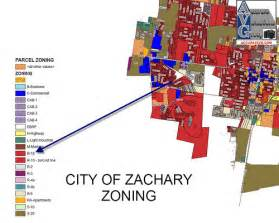 City Of Zoning City Of Zachary La Color Zoning Map Flickr Photo