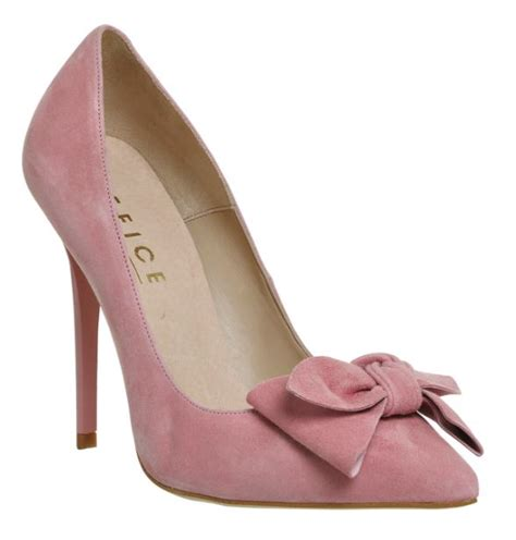 office hey pink bow court shoes gt shoeperwoman
