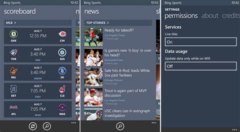 bing weather app windows phone microsoft announces bing apps for windows phone 8