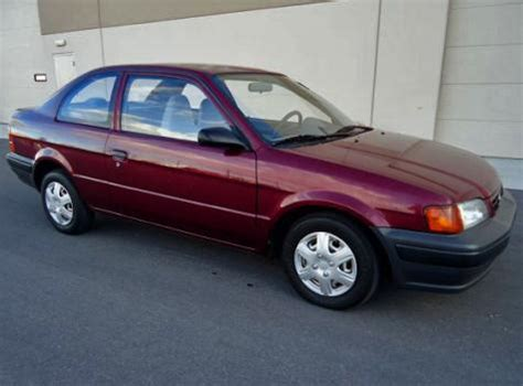 toyota tercel 1996 for sale used 1996 toyota tercel dx coupe for sale in nv autopten