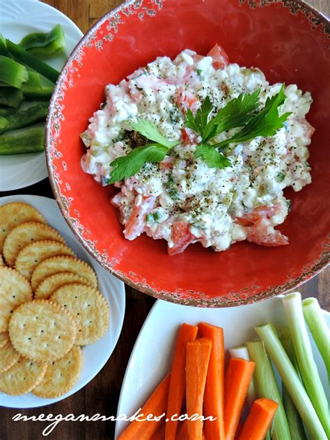 italian cottage cheese vegetable dip what meegan makes