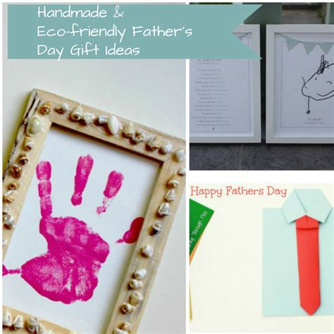 Handmade Fathers Day Presents - eco friendly and handmade s day gifts