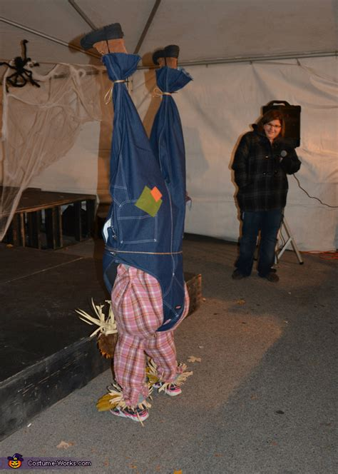 upside  scarecrow costume photo