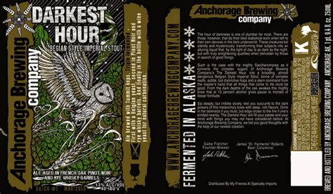darkest hour beer anchorage darkest hour belgian imperial stout beerpulse