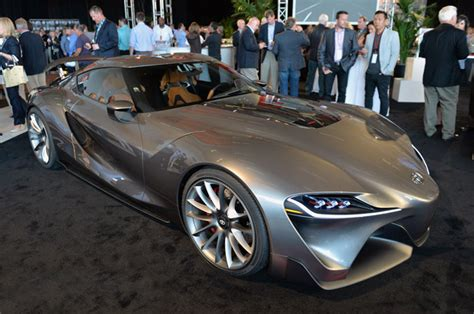 Toyota Ft1 Price Estimate Toyota Reveals New Versions Of Ft 1 Concept At Pebble