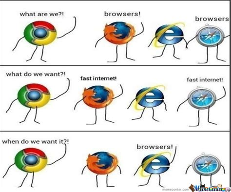 Web Browser Meme - internet browsers by blackdeath 663 meme center