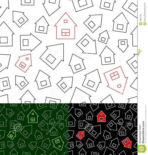 seamless pattern houses seamless pattern with houses royalty free stock photo