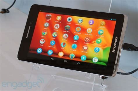 Tablet Lenovo Update lenovo intros the s5000 a budget 7 inch tablet running