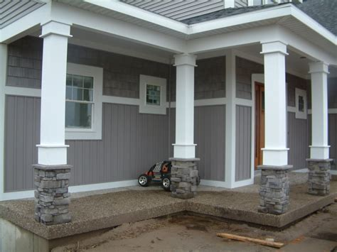 house post design columns for porch at entry way and corners ideas for