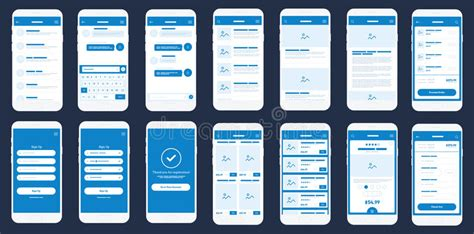 mobile app layout design tool mobile app wireframe ui kit detailed wireframe for quick