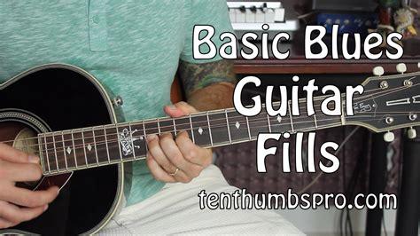 tutorial guitar blues easy blues guitar fills blues guitar tutorial youtube
