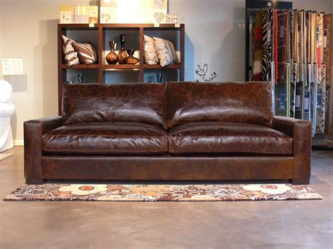 braxton leather sofa the braxton twin cushion leather sofa