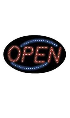 Sign Led Welcome Oval wholesale oval neon open sign for retail store supply warehouse