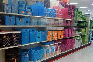Plastic Clothes Storage Containers - use lots of baskets caddies and containers for you stuff domestic planner