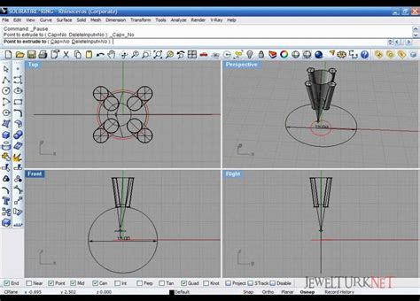 autocad jewelry tutorial rhinoceros tutorials 01 solitaire ring part 1 youtube