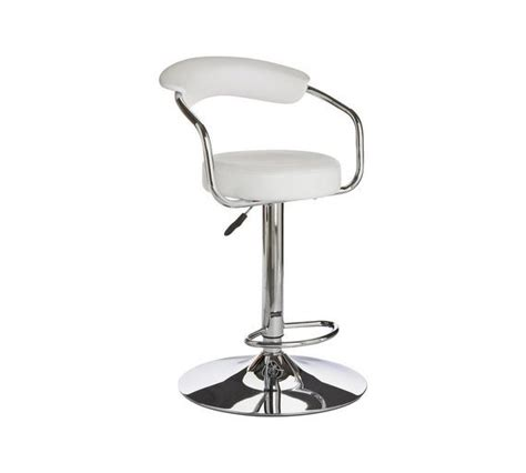 Bar Stools Argos by Buy Collection Executive White Gas Lift Bar Stool At Argos